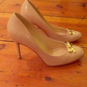 Kate Spade Bow Patent Heels